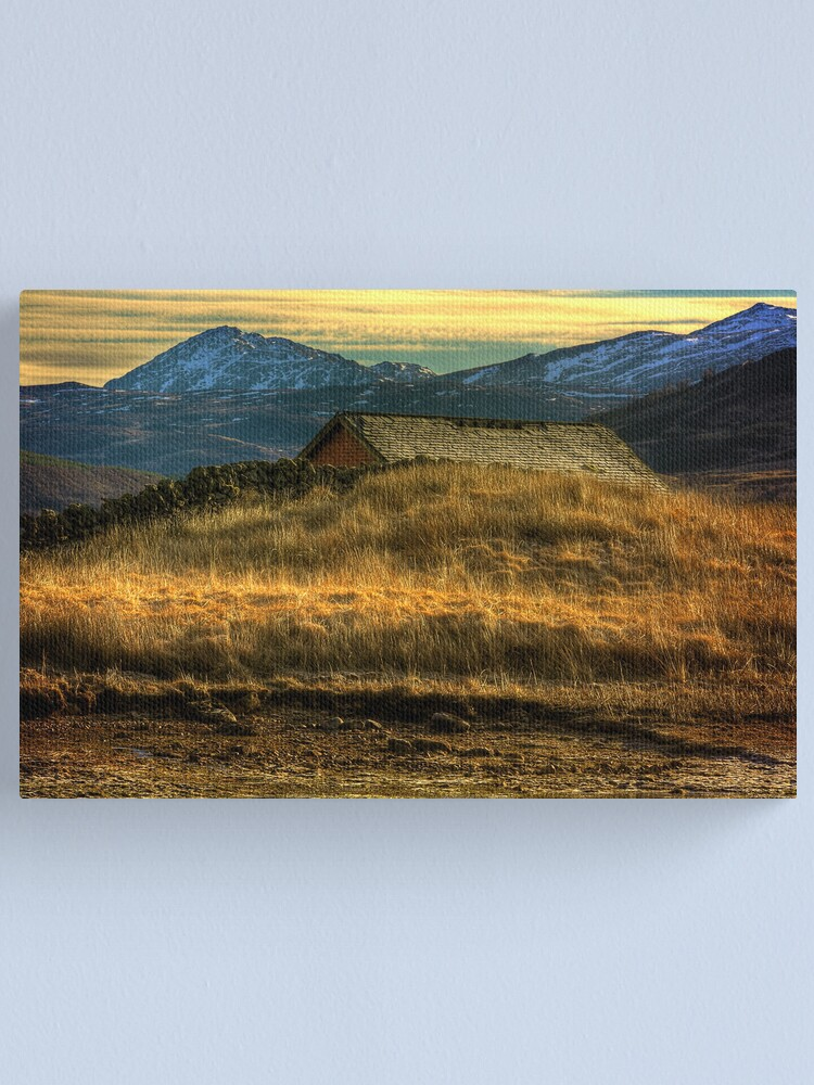 Alternate view of Arklet Boathouse Canvas Print