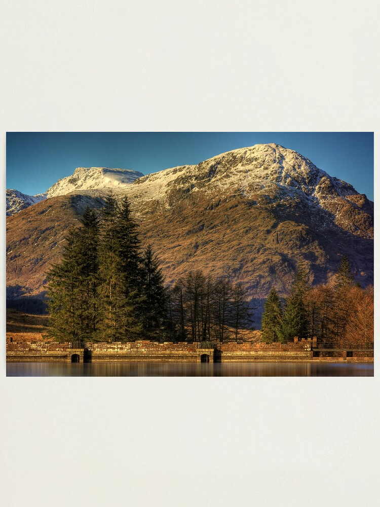 Alternate view of Arrochar Alps Photographic Print