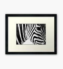 Banding Framed Print