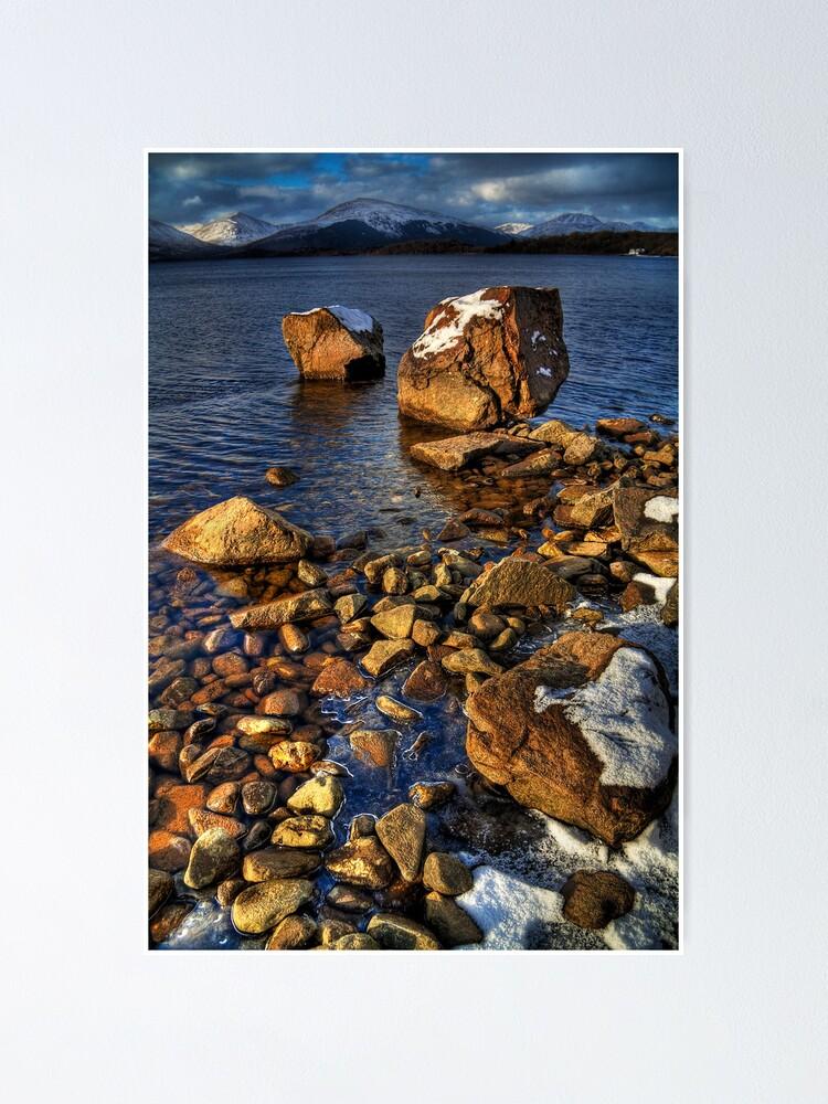 Alternate view of Milarrochy Rocks (4) Poster