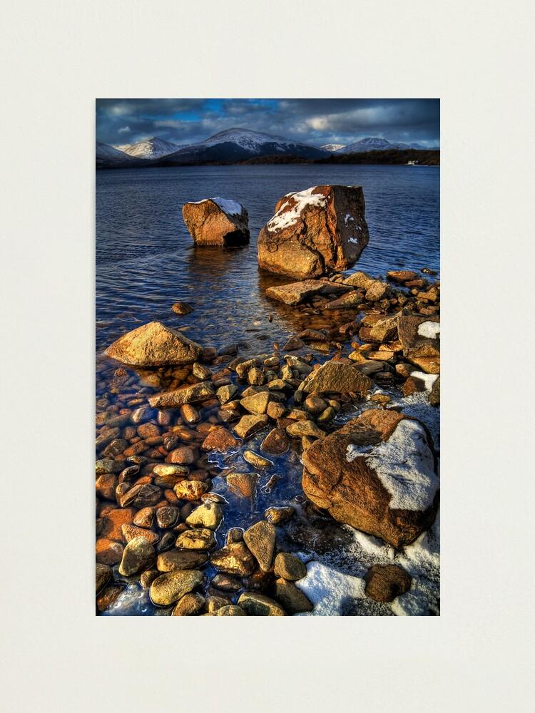 Alternate view of Milarrochy Rocks (4) Photographic Print