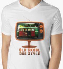 Old Skool Dub Style T-Shirt Men's V-Neck T-Shirt