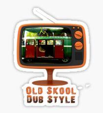 Old Skool Dub Style T-Shirt Sticker