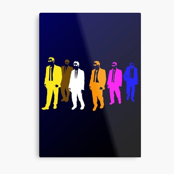 Reservoir Colors with Mr. Blue Metal Print