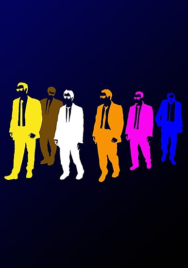 Reservoir Colors with Mr. Blue by ofthebaltic