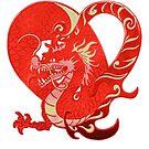 Dragon Heart Valentine Chinese New Year, RBSSP by sandyspider