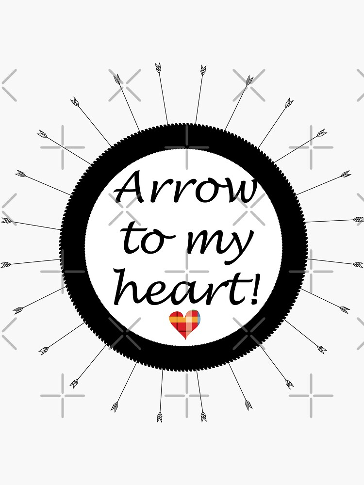 Arrow to my heart by CreativeContour