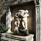 Rothschild Mansion fountain, Cap Ferrat by BronReid