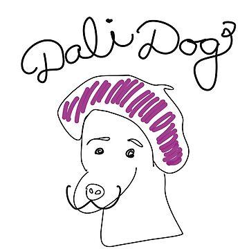 """funny artsy dog """"Dalì Dog"""" by chruezness"""