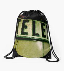 Last Life Line Drawstring Bag
