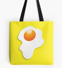 Dripping fried egg sunny side up Tote Bag