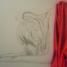 'Red Morning'  Close up of early stages by Warren Haney