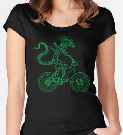 Alien Ride Women's Fitted Scoop T-Shirt