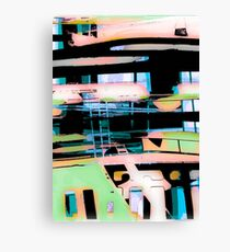colorul abstract, custom designs Canvas Print