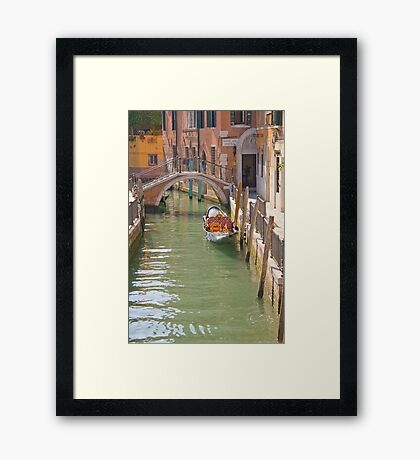 Who's Turn Is It? Framed Print