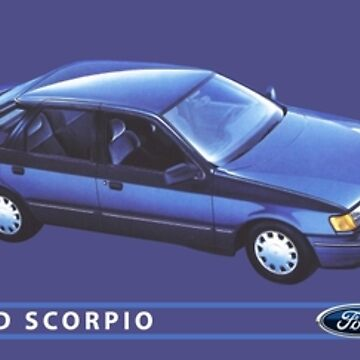 FORD SCORPIO by ThrowbackMotors