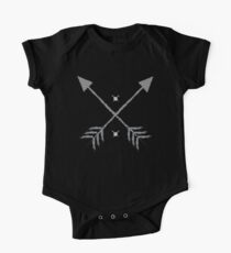 Crossed arrows pointed up Kids Clothes
