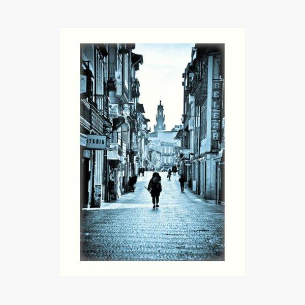 Road to Santiago - Jacob's Veg Art Print
