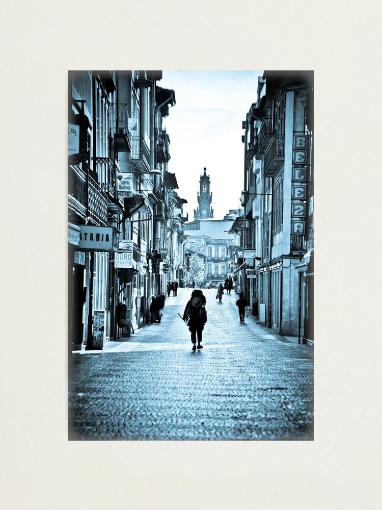 Alternate view of Road to Santiago - Jacob's Veg Photographic Print