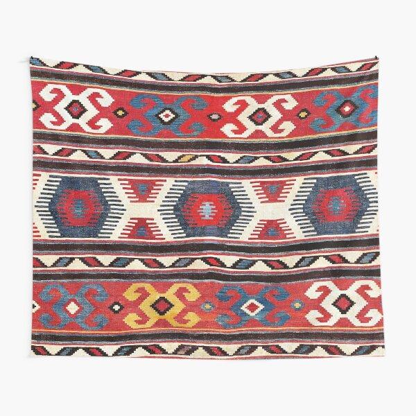Kazak  Antique South West Caucasus Kilim Tapestry