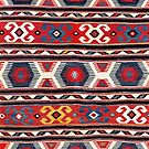 Kazak  Antique South West Caucasus Kilim by Vicky Brago-Mitchell