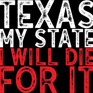 Texas USA state by emphatic