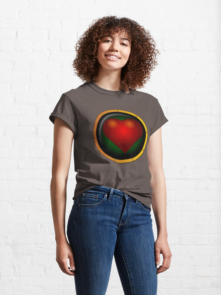 Alternate view of Show them you have a heart! Classic T-Shirt