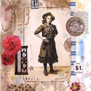 Calico Cowgirl Collage by collageDP