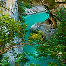 Turquoise Flow by JHRphotoART