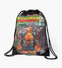Mobile Suit Garfield Drawstring Bag