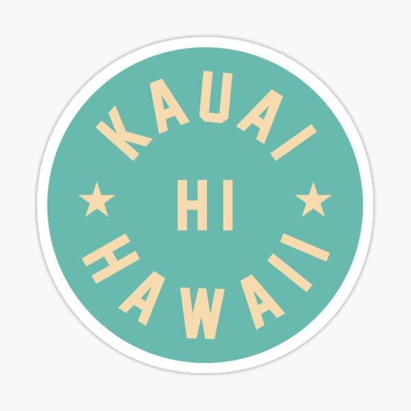 Kauai - Hawaii Sticker