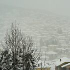 Krusevo covered in snow by distracted