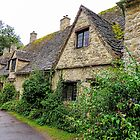 Arlington Row, Bibury - Cotwalds, England by Marilyn Harris