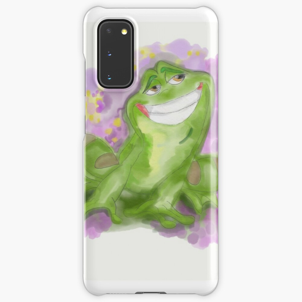 Princess And The Frog Prince Naveen Watercolor Case Skin For