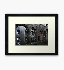 Central Arcade, Rochester Castle Framed Print