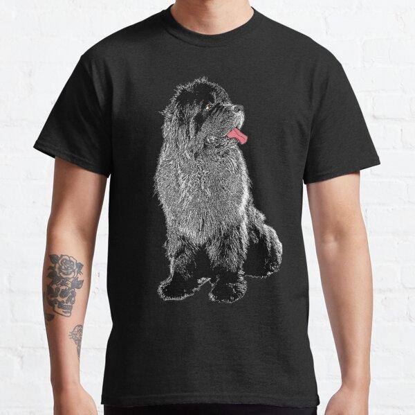 Grunge Newfie Classic T-Shirt