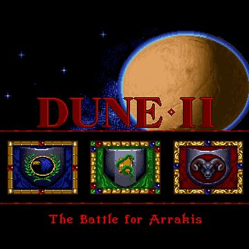 Gaming [Amiga] - Dune II (2): The Battle for Arrakis by ccorkin