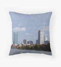 Head of the Charles Boston Throw Pillow