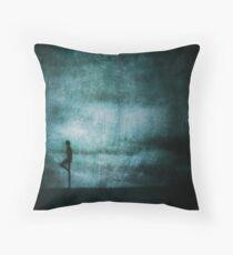 Approaching Dark Throw Pillow