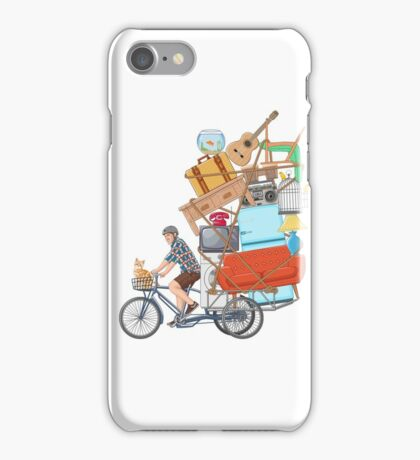 Life on the Move iPhone Case/Skin
