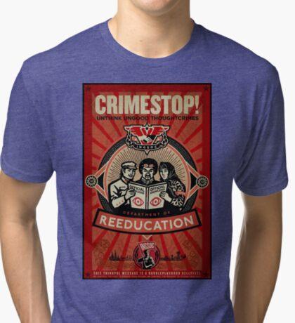 INGSOC 1984 Thoughtcrime Tri-blend T-Shirt