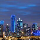 Dallas Star Skyline by josephhaubert