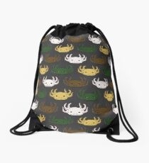 Axolotl Pattern Drawstring Bag