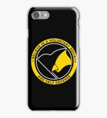 Voluntary Society iPhone Case/Skin