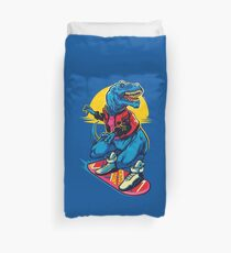 Rex to the Future Duvet Cover