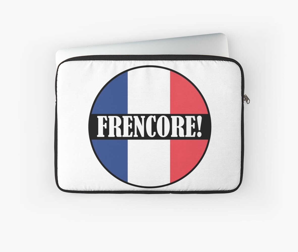 'Frenchcore' Laptop Sleeve by Gabber Generation
