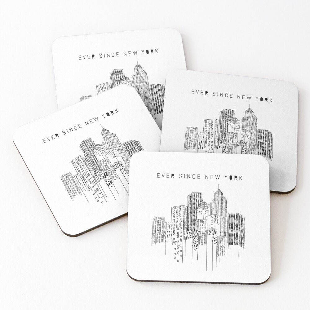Ever Since New York  Coasters (Set of 4)