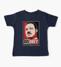 Martin Luther King Civil Disobedience Shirts Baby Tee