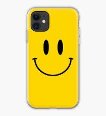 Retro Acid Smiley T Shirt iPhone Case