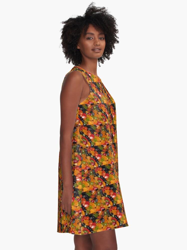 Alternative Ansicht von Zwerg Edelsteine A-Linien Kleid